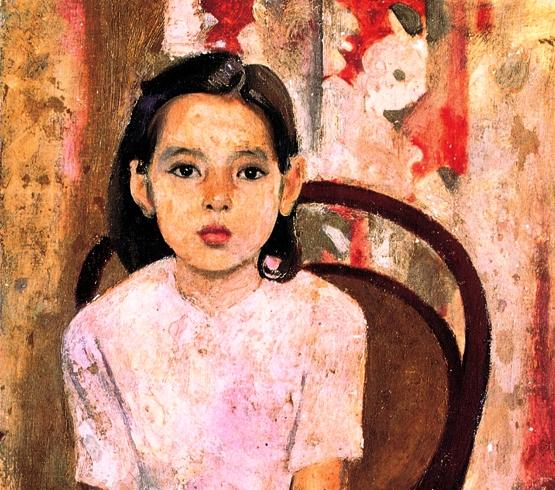 Tác phẩm Em Thúy là một trong những bức tranh nổi tiếng nhất của họa sĩ Trần Văn Cẩn