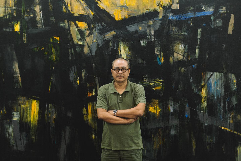 Chân dung họa sĩ Phạm An Hải